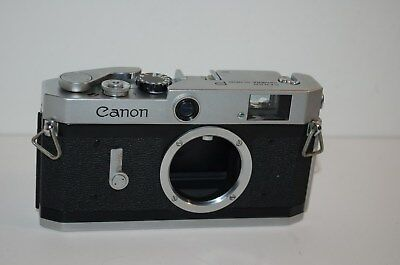 Canon-P Vintage 1958-61 Japanese Rangefinder Camera. Service. No.795292. UK Sale