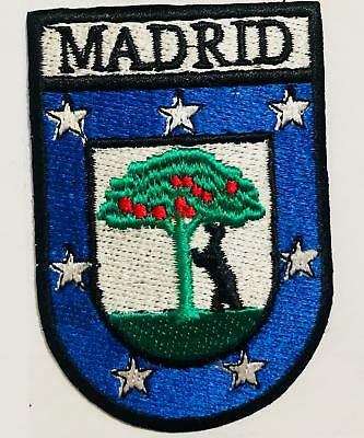 Spain Madrid City Coat of Arms Shield Embroidered Patch/ Madrid City Council