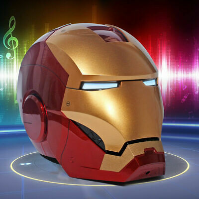 Iron Man MK7 Helmet Roan Toys Cosplay 1:1 Scale Wearable Open Close Collectable