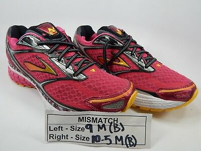 af1ab26a17ee4 MISMATCH BROOKS GHOST 7 Size 9 M (B) Left   10.5 M (B) Right Women s ...