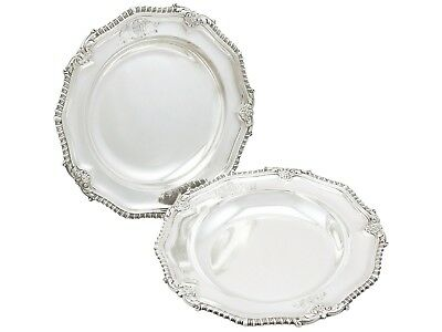Antique George IV Sterling Silver Soup Bowls by Paul Storr 1829