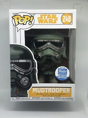 Pop Funko Star Wars Solo Mudtrooper CONFIRMED Limited Edition Exclusive