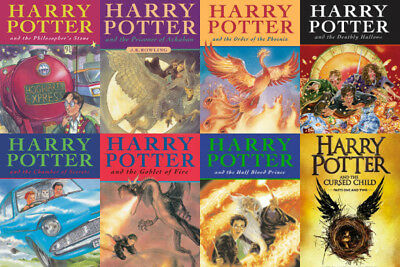 [EPUB][PDF][KINDLE][ENGLISH] Harry Potter Collection by J K Rowling ALL 8