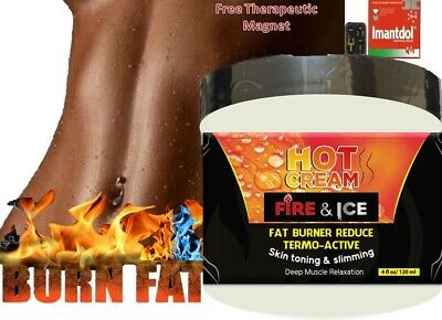 HOT CREAM VIENTRE PLANO CREMA REDUCTORA 4oz LIPO-GEL REDUCTOR burner GRASA fat