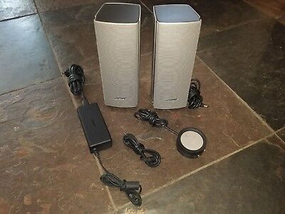 Bose Companion 20 High Quality Multimedia Speaker System Excellent Condition