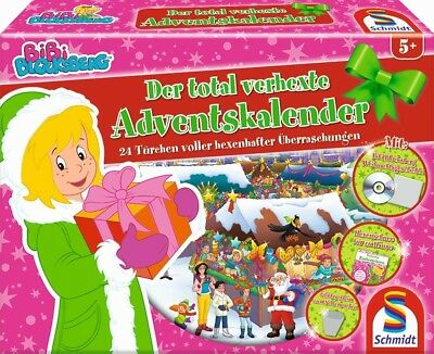 Schmidt 40583 - Bibi Blocksberg Adventskalender 2017 Der total verhexte Advent..