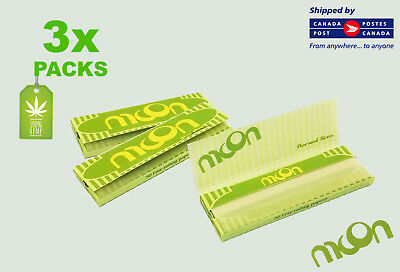 3 Packs - Moon Pure Hemp Rolling Papers -