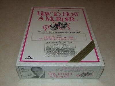 How to Host a Murder - The Class Of  '54 ~ Ventura - 1986 - New
