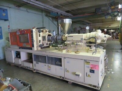 Nissei FS180S36ASE Used Injection Molding Machine, 202 US ton, Yr. 1988 #7881