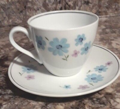 Grantcrest Fine China Japan - Daisy Song - Cup and Saucer set - replacement