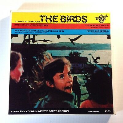 Vintage 8mm Super 8 Sound Movie THE BIRDS HITCHCOCK