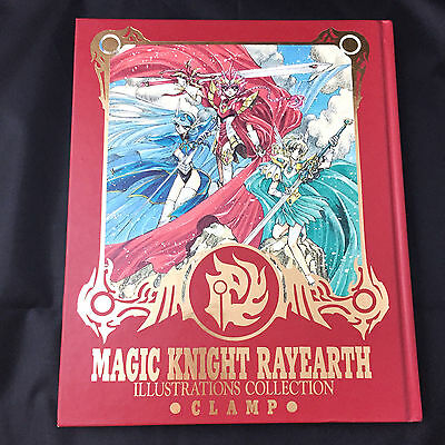 CLAMP Magic Knight RAYEARTH Illustration Collection / Japan ART BOOK