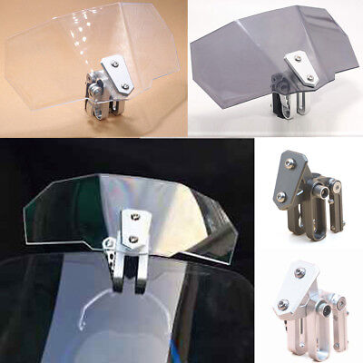 3days offer!! Clip On Windshield Screen Extension Spoiler Wind Deflector