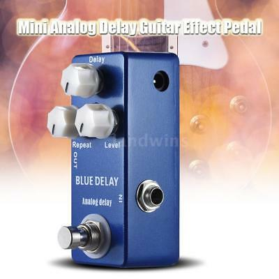 MOSKY Analog Delay Mini Electric Guitar Effect Pedal True Bypass High Quality