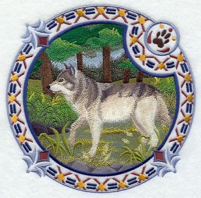 "Wolf, Wolves Embroidered Patch 7.8""x7.8"""