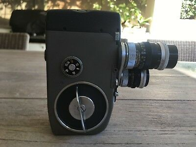 Canon Cine 8 Camera + Leather Case + Instruction Booklet