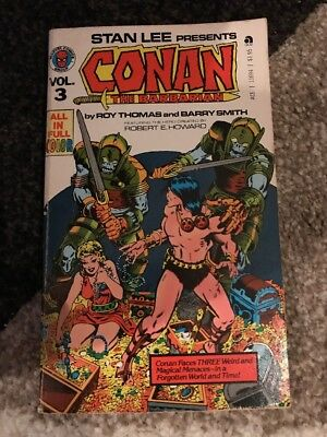 Stan Lee's Conan the Barbarian Volume 3 Comic Book In Full Color (1971, Marvel)