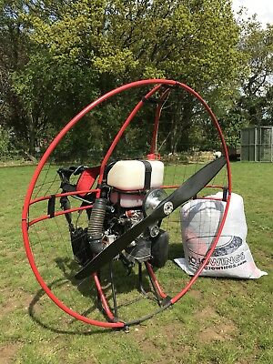FRESH BREEZE SOLO 210 Paramotor & JoJo Instinct Wing