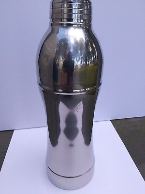 """""""Grey Goose"""" Stainless Steel Shaker 9"""" Tall"""