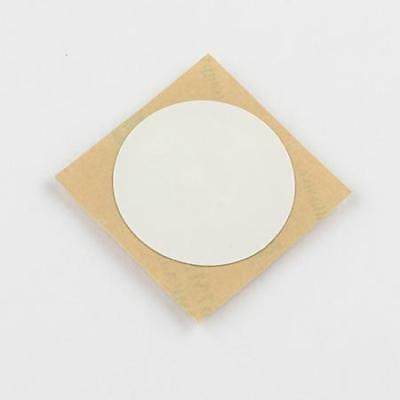 10 x NFC Sticker 30 mm, NTAG 213, 180 Byte, weiß, PET
