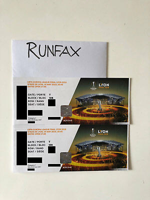 2 EUROPA League Final Tickets - EUR 375,00 | PicClick DE