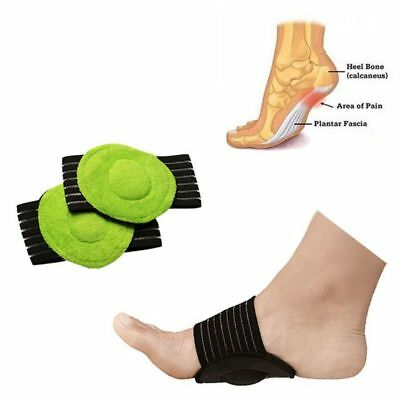 High Heel Foot Pad Cushion Arch Pain Relief Insole Pad Foot Support 1 Pair US