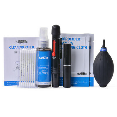 Rangers 9in1 Professional Lens Cleaning Multi-Kit Set para DSLR SLR Camera RA101
