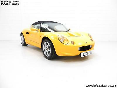 An Exhilarating Lotus Elise 111S with Full Lotus History and Just 13,504 Miles.