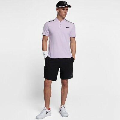Nike Court Roger Federer RF Advantage Tennis Polo - Size Small - 854611 514