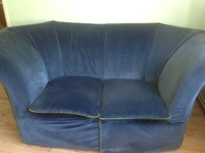 Vintage Pieff Deco- shaped Sofa Project