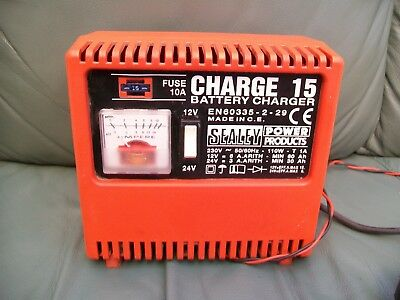 Sealey Jump Start /& Charger 12 Volt /& 24 V Car Van Truck Suv Garage Professional