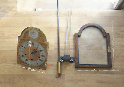 Antique Large  Clock Movement  working