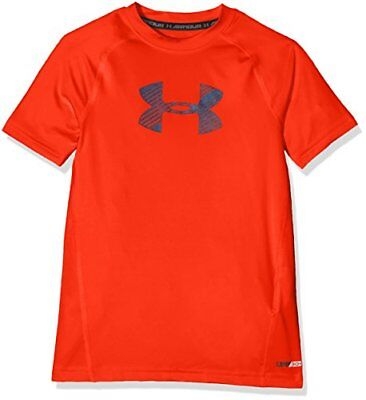 Under Armour Jungen Armour Kurzarmhemd Orange L