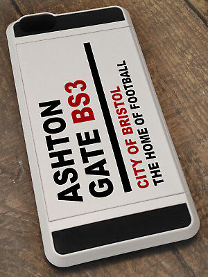 Personalised case for apple iphone, shockproof card holder, Bristol city fc gift