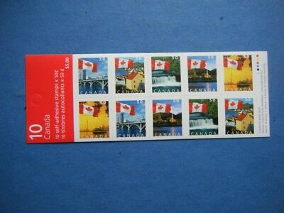 Canada#2080a MNH Booklet Pane 'Flags Over' Lot#P7