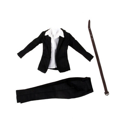 """1/6 Clothes Female Business Career Trousers Suits for 12"""" CG CY Body Figure"""