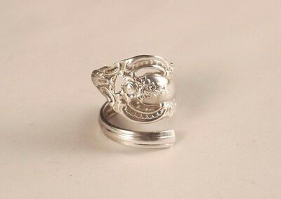 Vintage  Silver Spoon ring size 6
