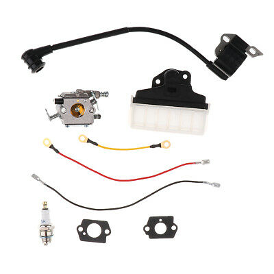 Carb Ignition Coil Air Filter Kit For Stihl MS210 MS230 MS250 021 023 025