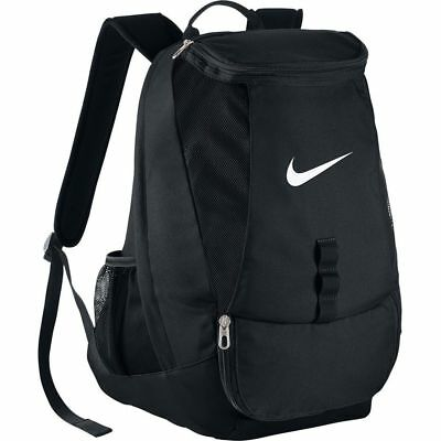Nike Backpack Rucksack Bag - Travel Sports Kit Team School Camping Hiking Black