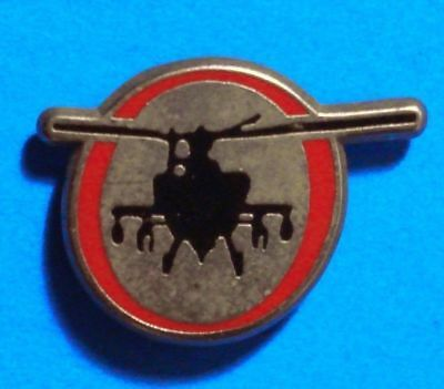 Black Hawk Helicoter - Uh 60 - Us Army, Navy & Air Force  - Vintage Lapel Pin