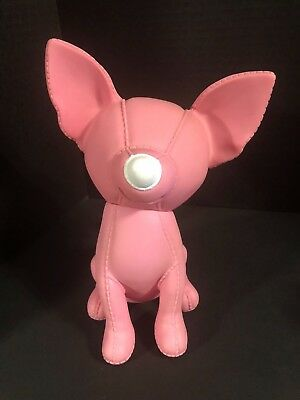 The Pups Banker Pink Chihuahua Bank Semk Design Made in Germany Vinyl