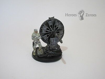 Star Wars Miniatures Champions of the Force COTF #43 HOTH TROOPER ATGAR CANNON