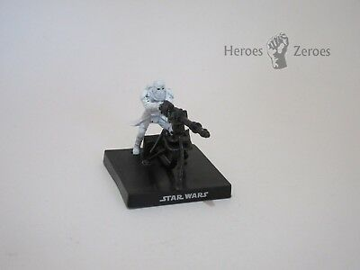 Star Wars Miniatures Champions of the Force COTF #51 SNOWTOOPER WITH E-WEB Promo