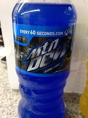 1- 20oz Mountain Dew Game Fuel Bottle Arctic Blast Middle Earth Shadow Of War
