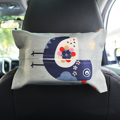 Car Seat Back Hanging Storage Table Home Tissue Box Container Holder Case Pouch