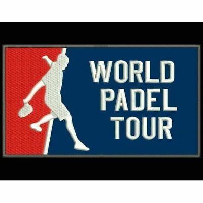 Iron Patch bestickt Patch zona ricamata parche bordado WORLD PADEL TOUR