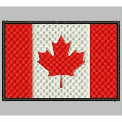 Iron Patch bestickt Patch zona ricamata embroidered patch FLAG CANADA