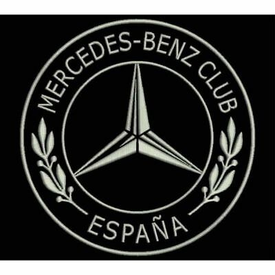 Iron Patch bestickt Patch zona ricamata parche bordado MERCEDES-BENZ CLUB