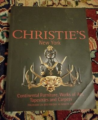 Christie's New York: Continental Furniture, Works of Art, Tapestries & Carpet