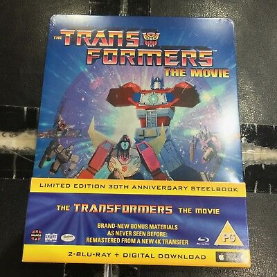 Transformers The Movie Blu-ray Steelbook | UK Zavvi | NEW SEALED region B